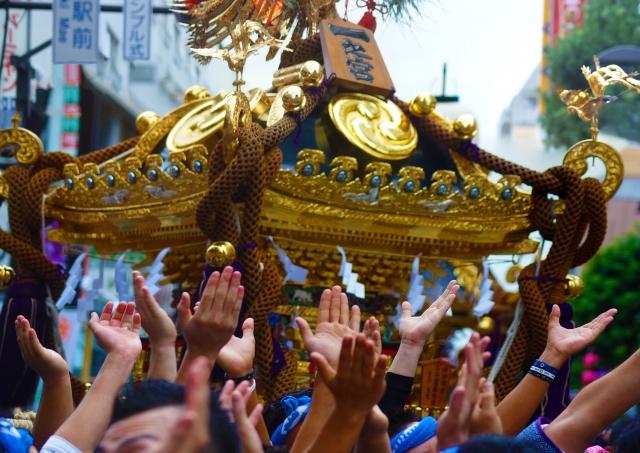 深川八幡祭りの歴史や由来