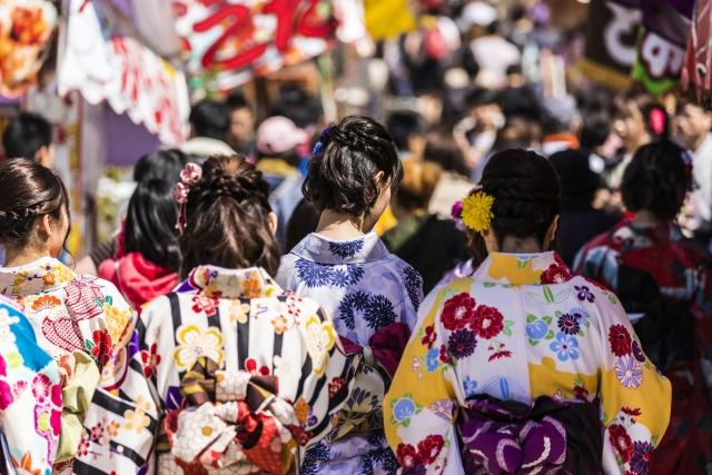愛染まつり(大阪)2019の日程や屋台は出店する?交通規制とアクセス情報