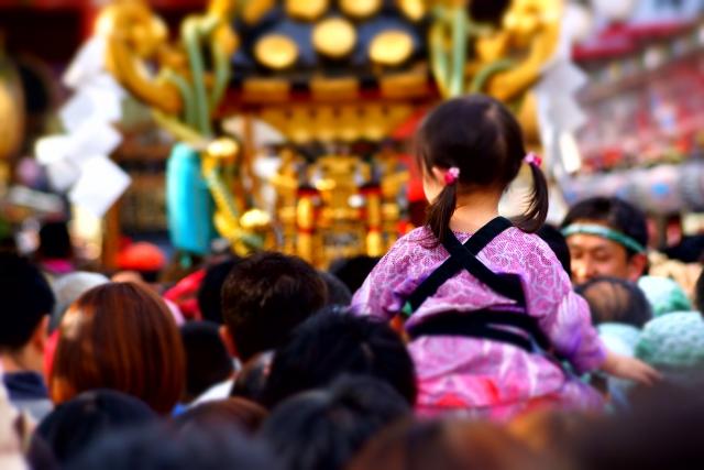 深川八幡祭り2019の日程や屋台露店の出店場所、交通規制と会場アクセス