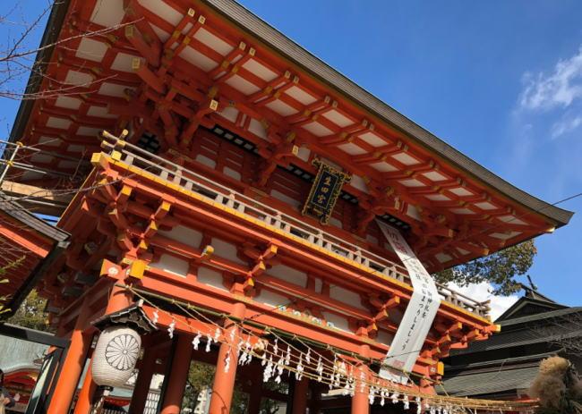 生田神社(神戸)の初詣2020は混雑する?参拝時間やアクセス、行き方と駐車場情報