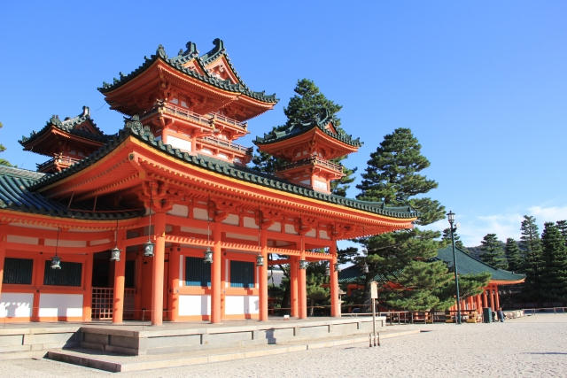 時代祭の平安神宮