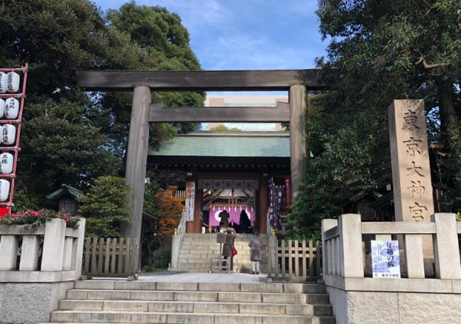 東京大神宮の初詣の混雑状況