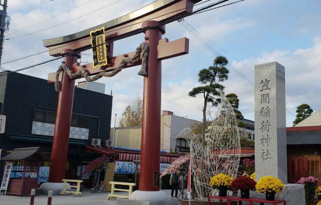 笠間稲荷神社の初詣の混雑状況