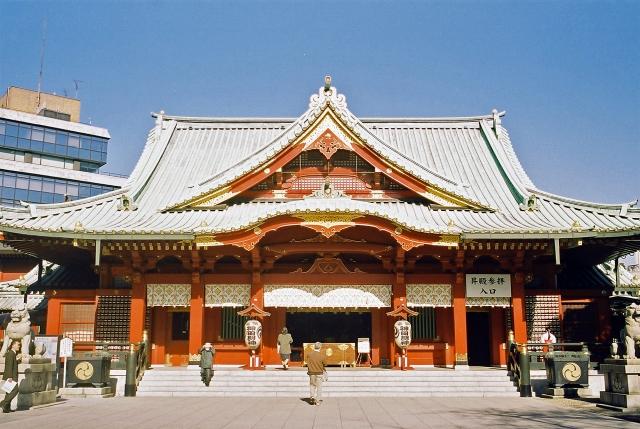 神田神社の初詣の混雑状況