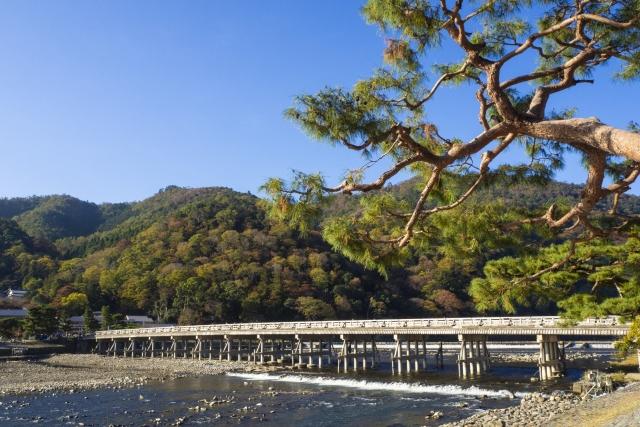 京都駅から嵐山(渡月橋)までの行き方