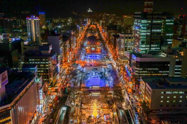 札幌雪まつり2020のプロジェクションマッピングと今までのテーマ、口コミ評判