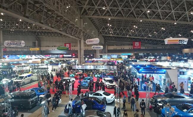 東京オートサロン2020の混雑や道路の渋滞状況と来場者数、入場者数情報