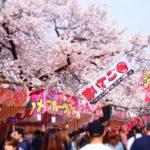 愛知名古屋の花見スポットで屋台出店のおすすめは?場所と時間、食べ物情報