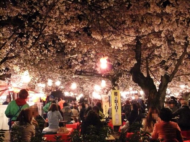 円山公園の屋台