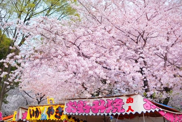 名古屋城桜まつりの屋台出店露店情報