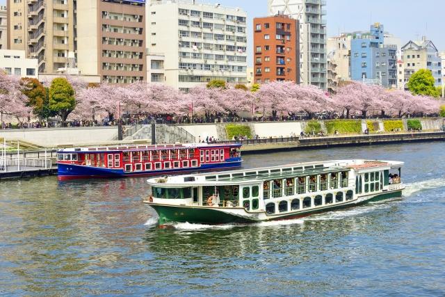隅田川(隅田公園)桜祭りの花見2020の混雑や場所取りの時間、駐車場情報