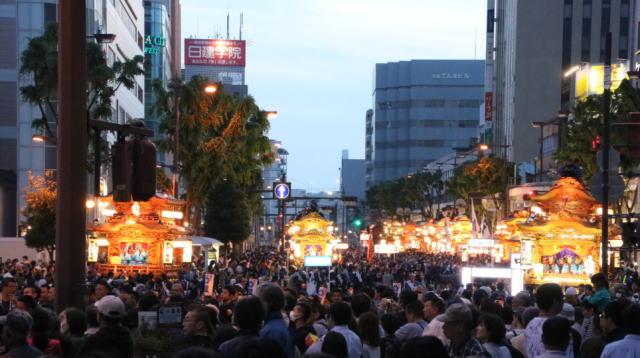 浜松まつり2019の混雑や渋滞、交通規制、通行止めの場所と人出情報