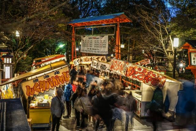 祇園祭の屋台出店露店情報