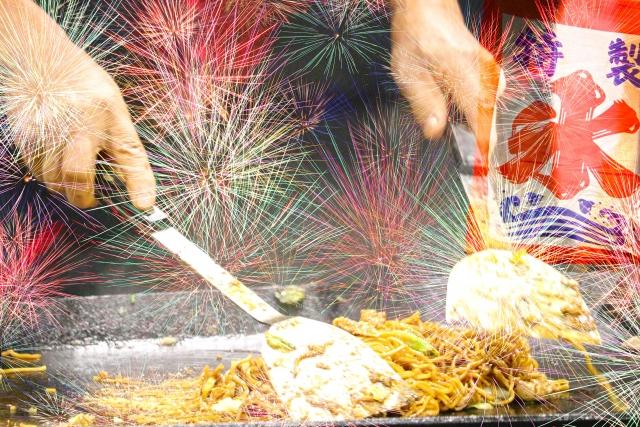 隅田川花火大会2019の屋台出店露店の場所や営業時間、おすすめグルメ情報