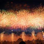 安倍川花火大会2019の混雑や交通規制、通行止め情報と場所取りの時間