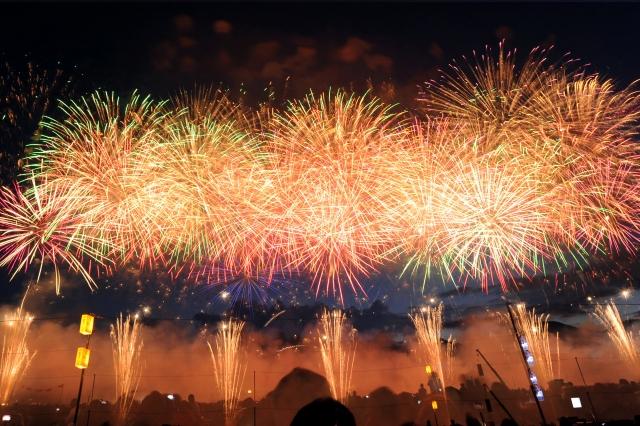 前橋花火大会2019の穴場な観覧スポットや屋台露店の出店場所と駐車場情報