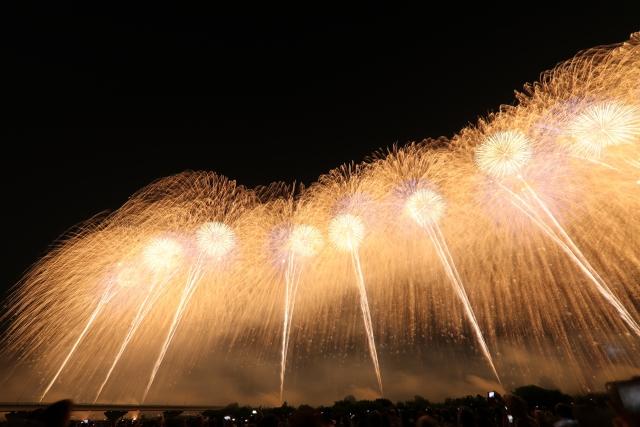 長岡まつり大花火大会2019の穴場な観覧スポットや屋台露店の出店場所と時間