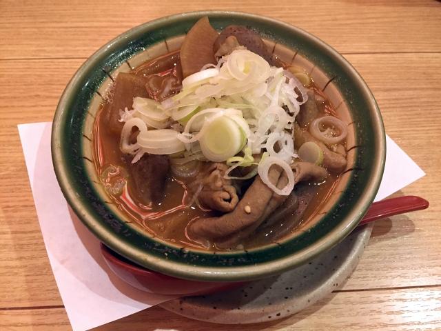 隅田川花火大会の出店のもつ煮