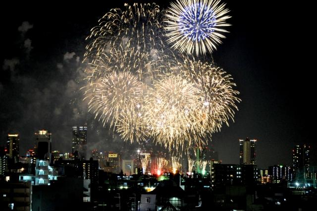 なにわ淀川花火大会2019の穴場な観覧スポットや屋台露店の出店場所と口コミ評判