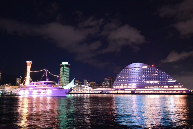 神戸花火大会2019の穴場な観覧スポットや屋台露店の出店場所と口コミ評判