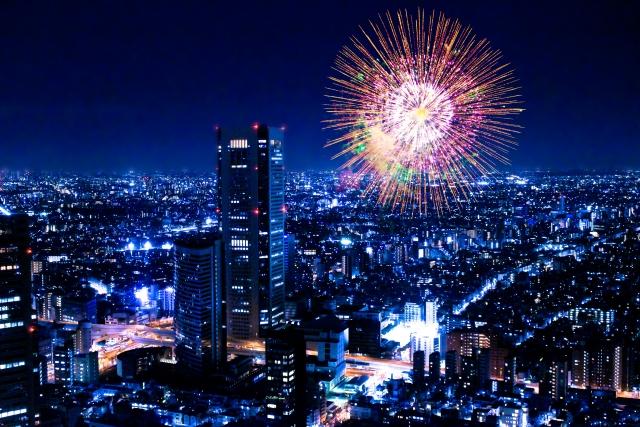 東京関東の有名な花火大会と言えば?穴場観覧スポットと花火打上場所、デート情報